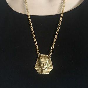 Vintage king tut necklace